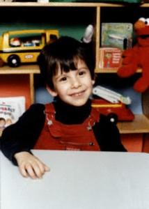 Joseph trois ans au moment du diagnostic