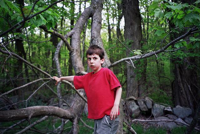 enfant dans les branches - GAF - 2004